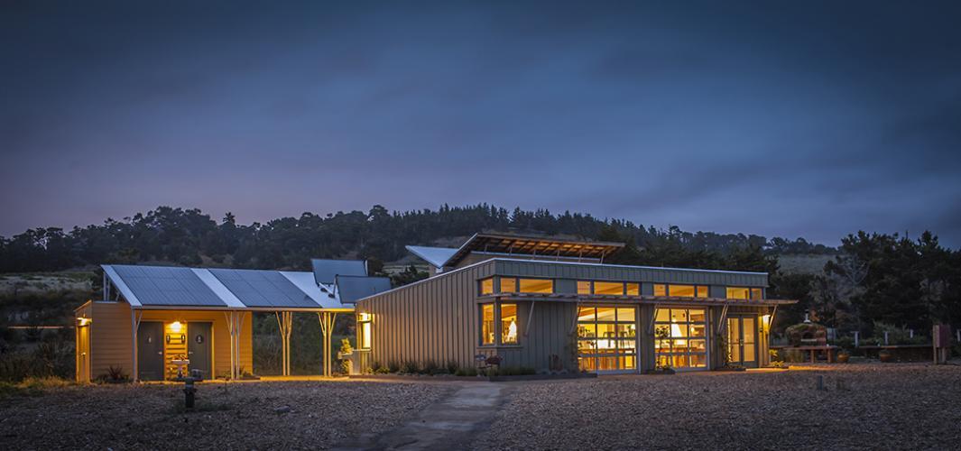 carmel green classroom exterior
