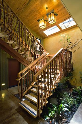 Madrone stair