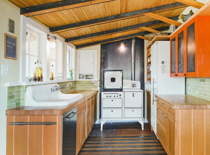 urban farmhouse kitchen